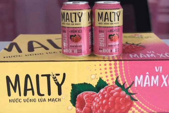 """SABIBECO tung mặt hàng mới 'Nước uống lúa mạch Malty"""" tại TP.HCM"""