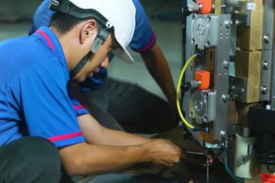 Technical services - installation of machinery and equipment lines