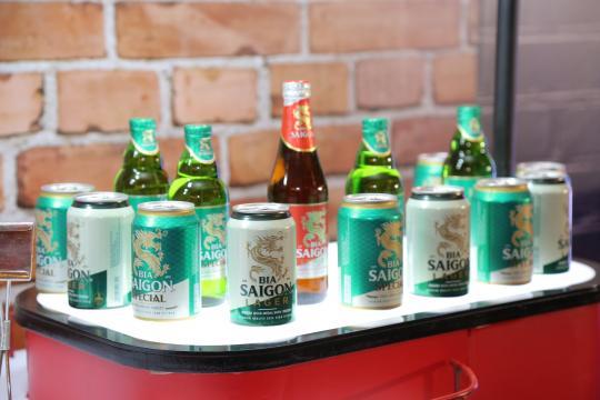 Bia Sài Gòn tái ra mắt bộ nhận diện thương hiệu mới