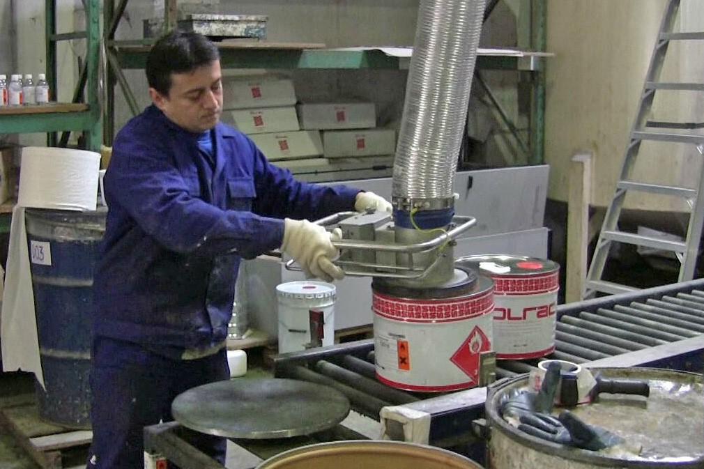 VACUUM TUBE LIFTER JUMBOSPRINT EX FOR BARRELS