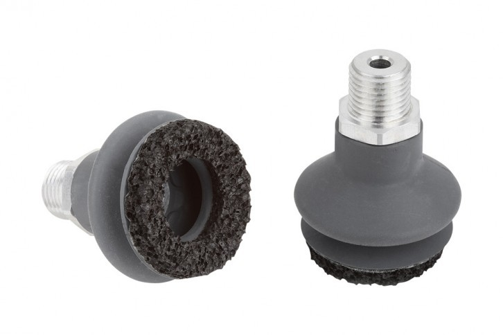 BELLOW SUCTION CUPS WITH SEALING RING 10.01.06.01666-40-218
