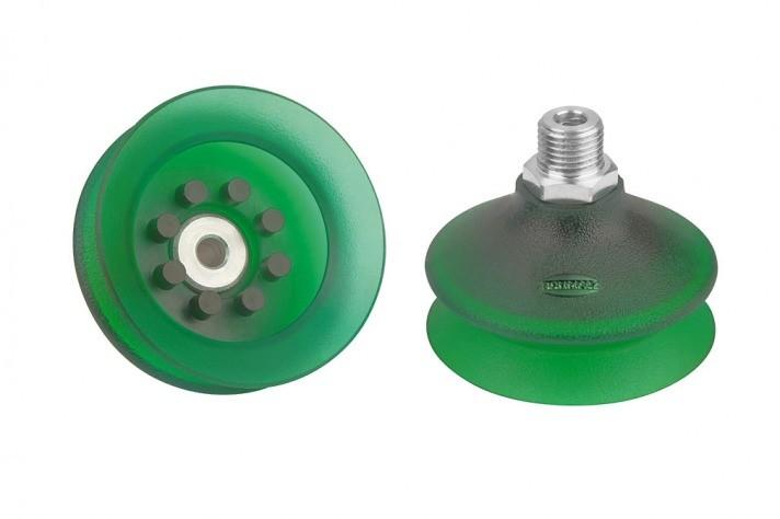 BELLOW SUCTION CUP FSGA-VU1-1-5-FOLDS-PGE-00018-400-214