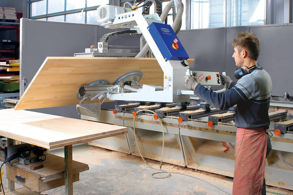 VACUUM LIFTING DEVICES COMFORT FOR WOODEN