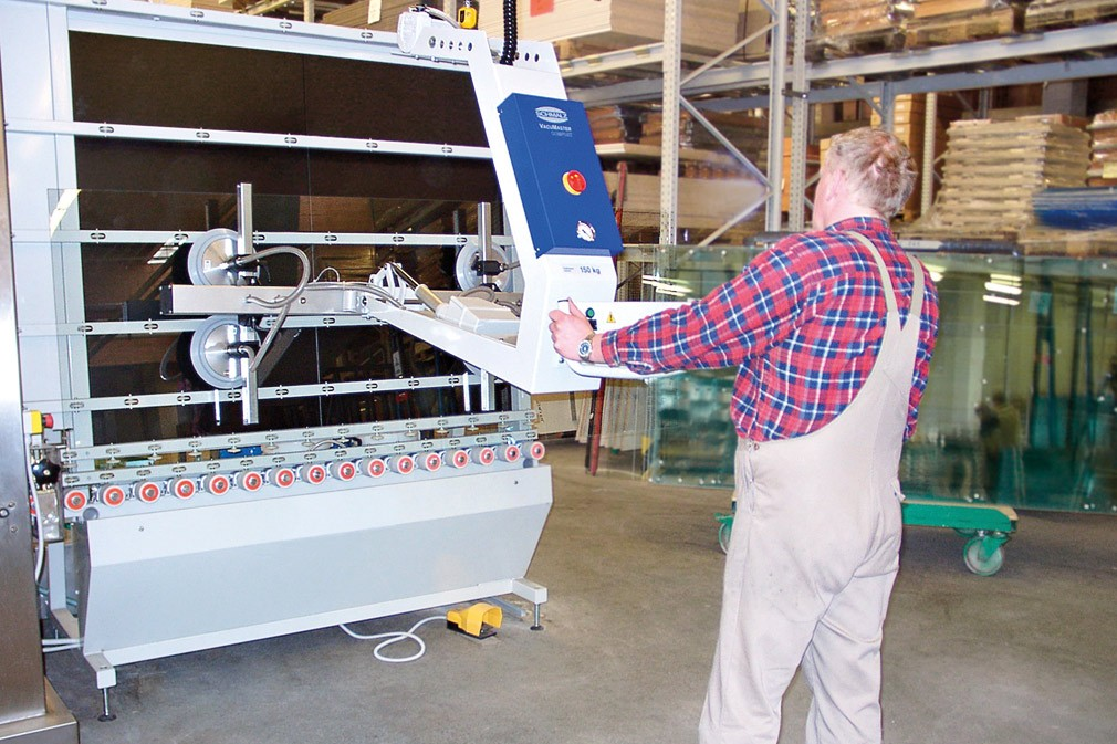 VACUUM LIFTING DEVICES COMFORT FOR GLASS
