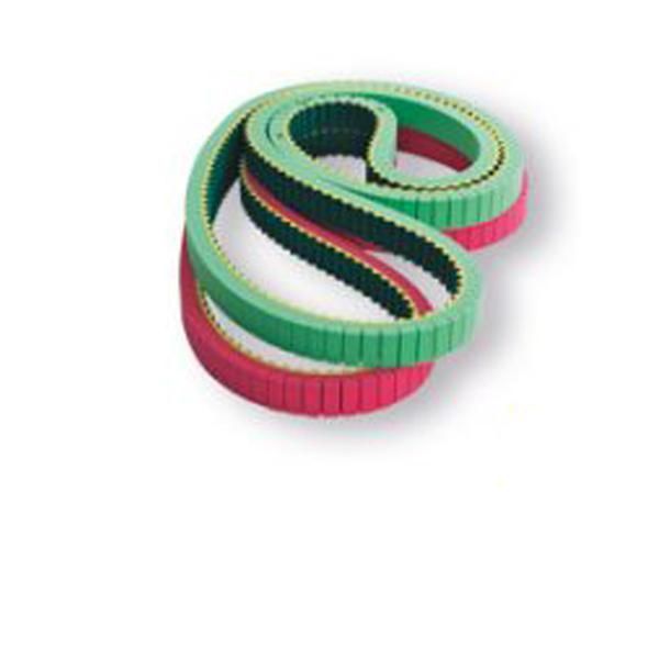 COATED TIMING BELTS WITH STRAINGHT SLOTS