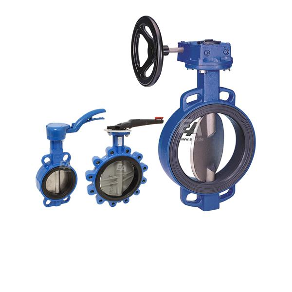 HANDLE BUTTERFLY VALVES