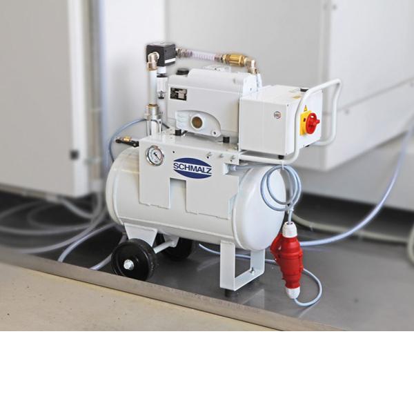 VACUUM GENERATION FOR CNC MACHINE CENTERS