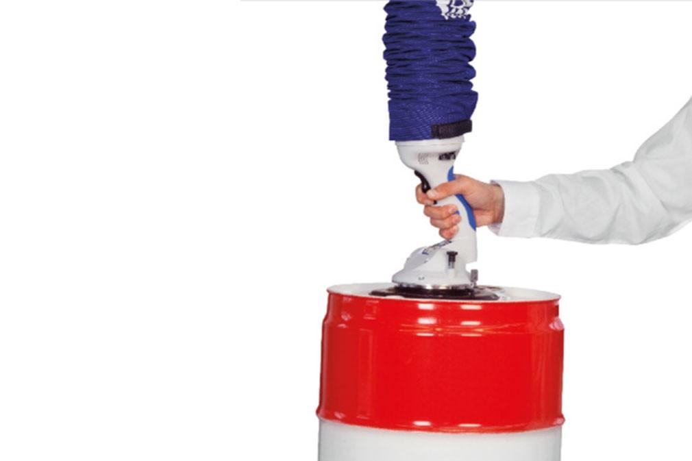 VACUUM TUBE LIFTER JUMBOFLEX SUCTION ROUND
